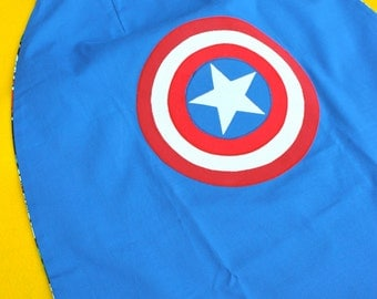 Captain America Superhero Cape