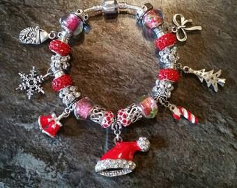 European style charm bracelet