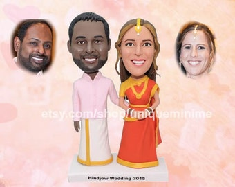 special wedding gift, father of the groom gift, groomsmen gift idea, custom gift, bridesmaid gift to bride, bobblehead doll, groomsman