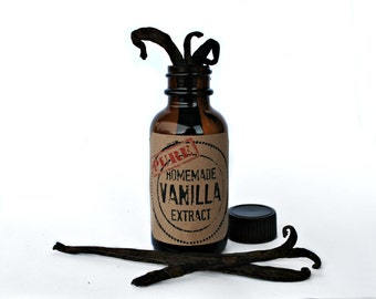 Pure Vanilla Extract DIY Kits