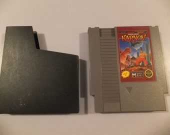 Karnov Original NES Nintendo Vintage Video Game Cartridge