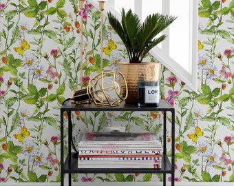 summer vibes removable wallpaper vinyl wallpaper temporary wall decal peel u0026 stick wallpaper