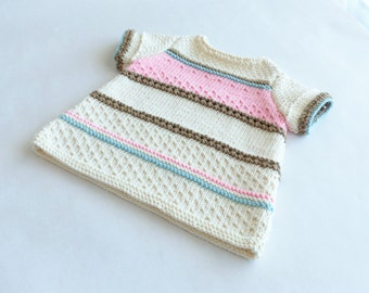 Dress knit baby girl sizes 3-6-12 months