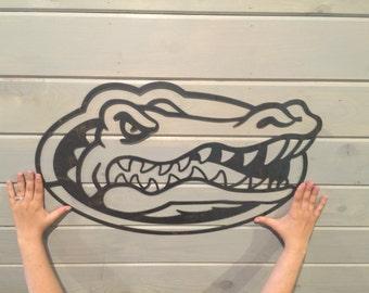 Uf gators decor etsy - Florida gators bathroom decor ...