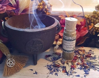Cut and Clear Incense Hoodoo Blowing Powders