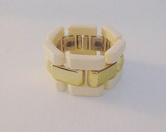 Plastic bracelet / 80s bracelet / link bracelet
