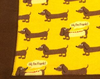 Hi, I'm Frank flannel receiving blanket