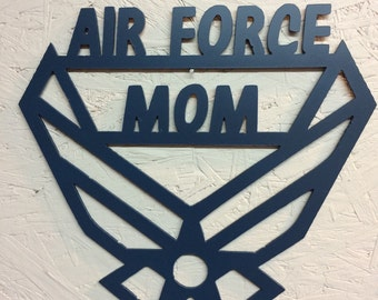Air Force Mom wall hanging