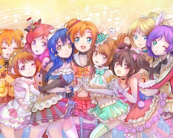 Love Live Fan Art Print