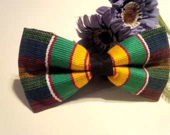 Ohene Kente Bow tie -African cloth bow tie