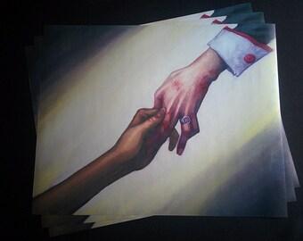 Utena: Someday, Together art print