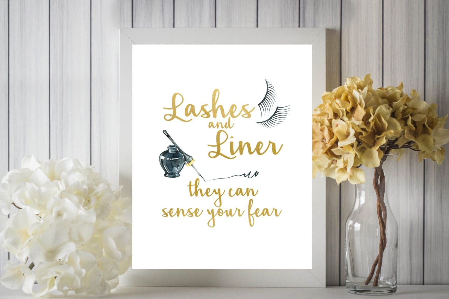 Lashes and Liner Printable
