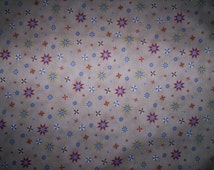 """1 yard x 44"""" allover cotton coordinating Heading Home Billy Jacobs Elizabeth's Studio tan background"""