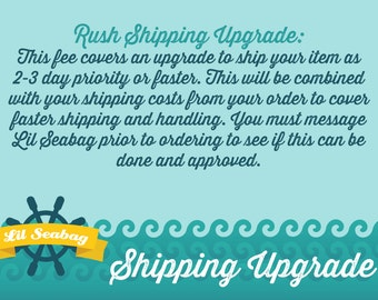 Upgrade My Shipping