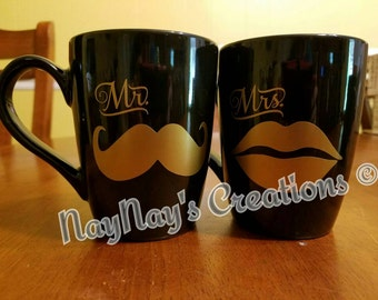 His and Hers Mugs Set.