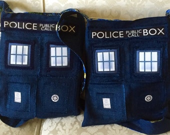 Tardis Police Box Crossbody Purse
