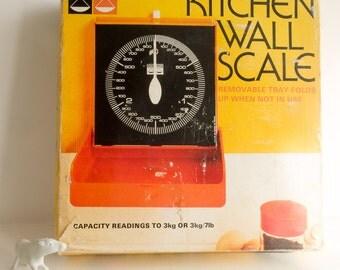 Vintage Hanson kitchen wall scales