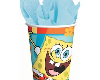 SpongeBob Squarepants ''Buddies''  Paper Cups 8ct
