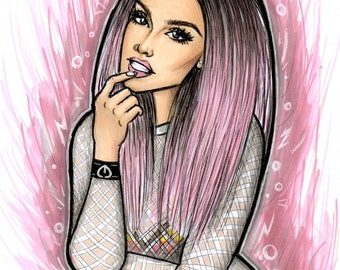 Pink Perrie Edwards