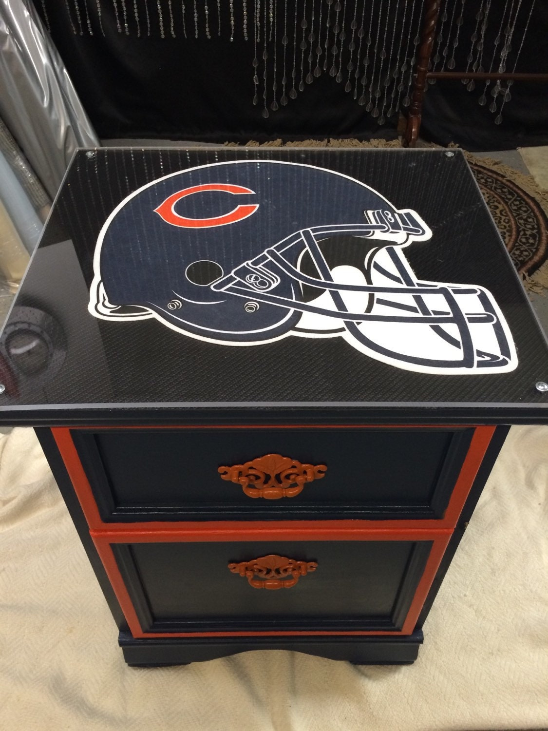Chicago Bears Sports Furniture Man Cave By