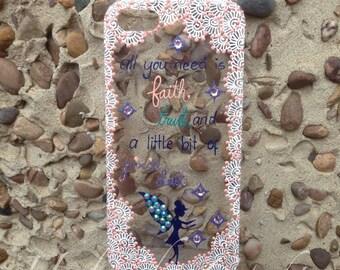 Henna Inspired Tinkerbell Disney Phone Case