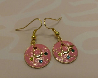 Sailor Moon Inspired Earrings, Sailor Moon Earrings