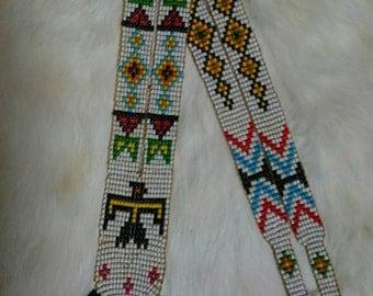 Vintage West Coast Native Beaded Necklace