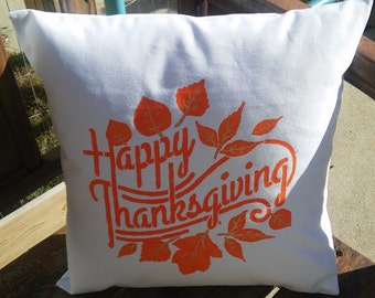Items Similar To Rustic Happy Thanksgiving Burlap Banner