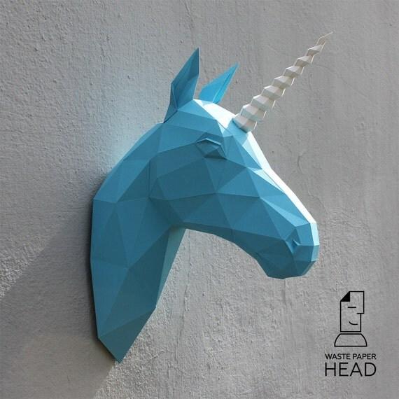 Origami Horse Sculpture