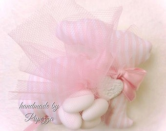 Teddy bear and pink Bunny favors