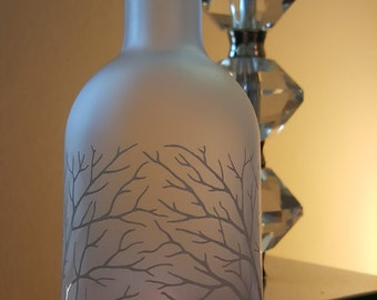 Belvedere Vodka bottle Candle Cover