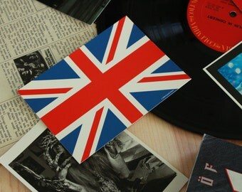 British Union Jack Postcard