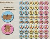 Puppy Stickers, Puppies, Dogs, Dog Stickers, Puppy Confetti, Dog Confetti, Puppy Party, Dog Party, Puppy Birthday, Dog Birthday, Puppies