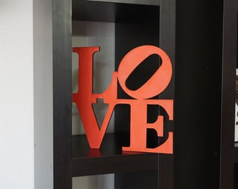 Stacked Love Cutout