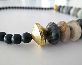 natural stone necklace, natural necklace, stone necklace, natural stone, natural stone jewelry, jewelry stones, jasper necklace
