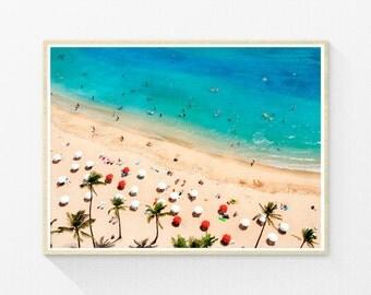People, beach photo, beach print, beach photography, beach art, beach wall art, photography prints, beach wall decor, beach photograph