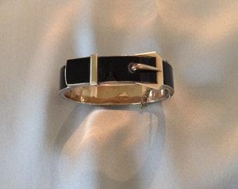 Enamel Art Deco Bracelet