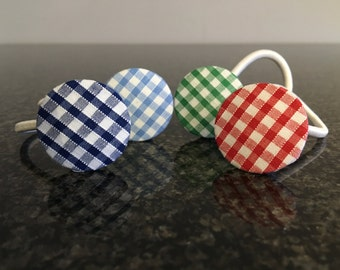 Gingham hairbands (each)