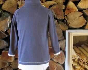 Sous-pull turtlenecks, 100% organic cotton, Vertcorps