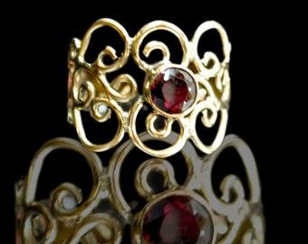 brass wire ring