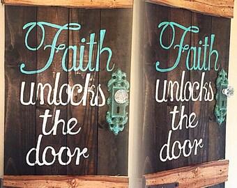 Door saying