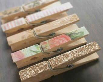 Decorative Clothespins *Set of 10
