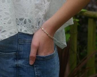 silver bracelet - star bracelet - handmade silver bracelet - silver star bracelet - gifts for her - birthday gifts for friends