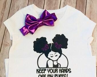 Dont Touch My Puffs T-shirt