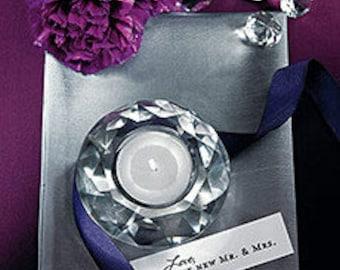 Crystal Tealight Holders (6)