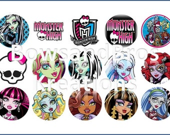 Monster High Bottle Cap Images