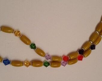 Rainbow Yellow Necklace
