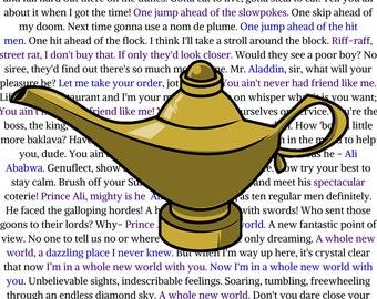 Disney's Aladdin - Song Lyrics