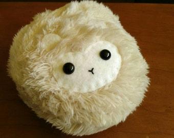 Fuzzy Sheep Plushie