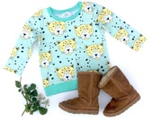 Hot Spot Organic Cotton Long SleeveWaistband Tee / Sweater / Sweatshirt